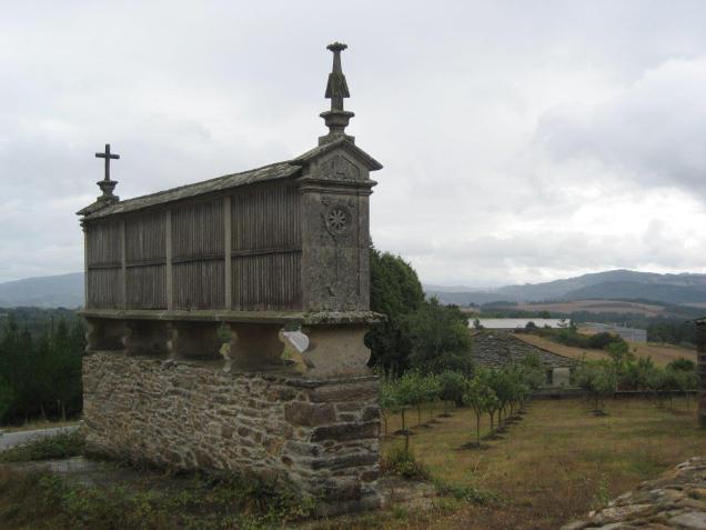Kamnita kašča v Galiciji