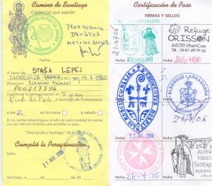 Romarski potni list