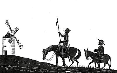 Romar se bori z mlini na veter