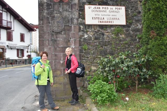 Saint-Jean-Pied-de-Port je Sveti Janez ob vznožju Pirenejev